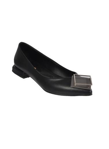 Mhd 125 Siyah Kadın Günlük Ayakkabı Siyah